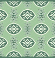 abstract seamless geometry green pattern vector image vector image