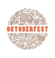 Oktoberfest Cartoon icons