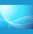soft blue background vector image vector image