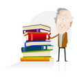power of knowledge vector image