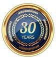 30 years experience badge