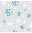 Abstract Christmas seamless background with vector image vector image