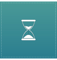 Hourglass time icon isolated vector image vector image