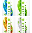 nature abstract background vector image vector image