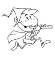 Pied piper costume cartoon