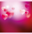 pink blurring background vector image vector image
