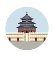 Temple of Heaven icon vector image vector image