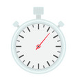 stopwatch flat icon fitness and sport vector image