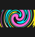 abstract colorful background with waves and swirls vector image vector image