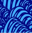 background with abstract blue waves Seamless vector image vector image