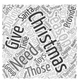 Christmas Article 6 text background wordcloud vector image vector image