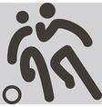 Football icon vector image vector image