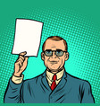information help businessman business finance vector image