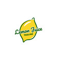 lemonade logo designs juice logo designs vector image vector image