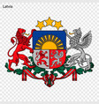 national emblem or symbol vector image vector image