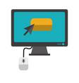 payment online cartoons vector image