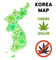 royalty free cannabis leaves style north and south vector image
