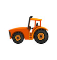 tractor agricultural machinery farm equipment vector image vector image