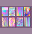 universal holographic blur texture abstract vector image