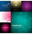 abstract background graphic digital line colorful vector image vector image