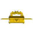 ark of the covenant vector image