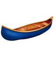 Canoe vector image vector image