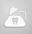 Fan stomatology symbol vector image vector image