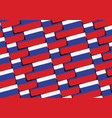 grunge russia flag or banner vector image vector image