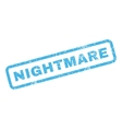 Nightmare Rubber Stamp vector image vector image