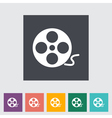 reel film vector image