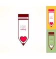 Writing hobby Love to write concept Pencil icon vector image vector image
