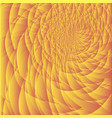 background of fractal orange vector image