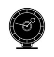 celestial clock vector image