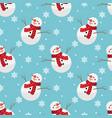 christmas holiday season seamless pattern vector image vector image