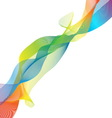 Colorful imagination design on white background vector image