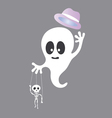 Cute Ghost cartoon vector image