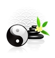 feng shui background vector image vector image