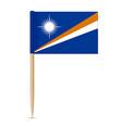 flag marshall islands swedish flag vector image