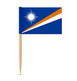 flag of the marshall islands swedish flag vector image