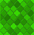 green turkish mosque seamless tile pattern vector image