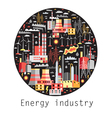 Industry background vector image vector image