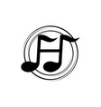 music learning center letter h vector image vector image