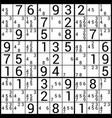 sudoku vector image