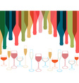 Card Cocktail party vector image