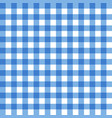 blue tablecloth texture seamless background vector image