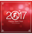 chinese new year 2017 7 vector image vector image