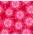 crimson seamless background vector image vector image