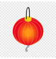 paper lantern isometric icon vector image