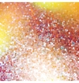 Red glittering background EPS 10 vector image vector image
