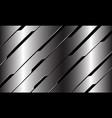silver black line circuit cyber geometric slash vector image vector image